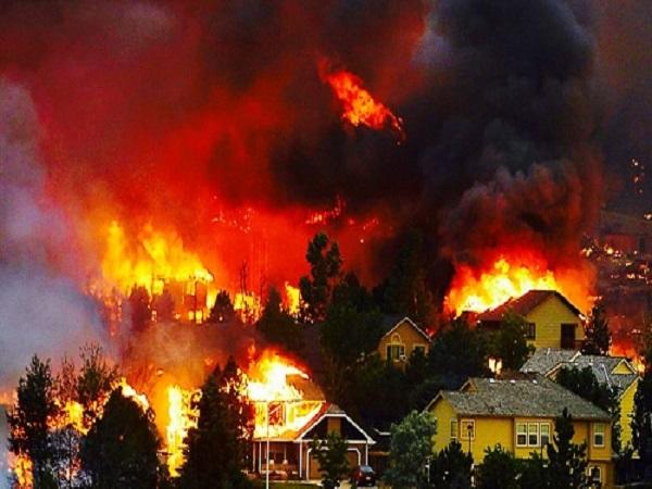 Mơ thấy cháy nhà điềm gì?