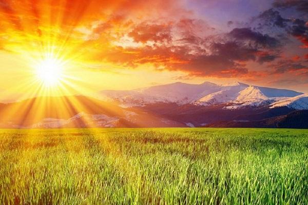 Điềm báo trong giấc mơ thấy nắng