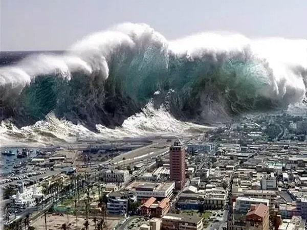 Điềm báo trong giấc mơ thấy sóng thần
