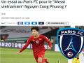Tin bóng đá 13-6: Truyền thông Pháp nói gì về Công Phượng
