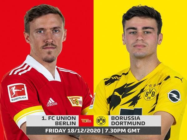 Nhận định kèo Union Berlin vs Dortmund, 02h30 ngày 19/12