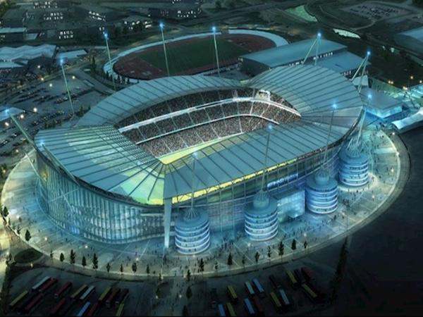 Cùng chìm đắm trong vẻ đẹp của sân vận động Etihad.