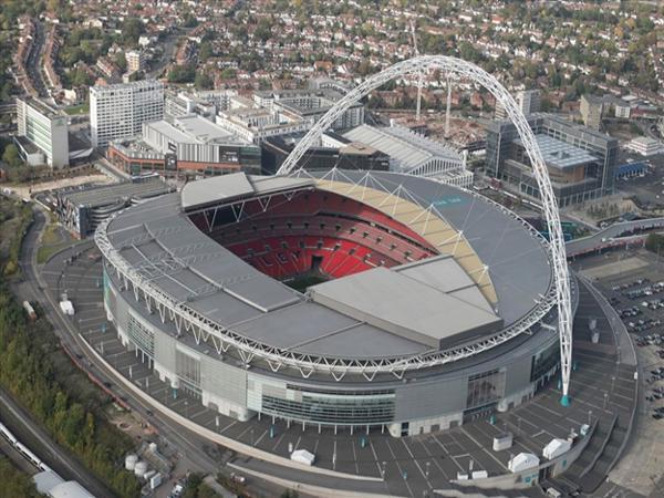 Vẻ đẹp toàn cảnh của sân vận động thành phố Manchester - Etihad.