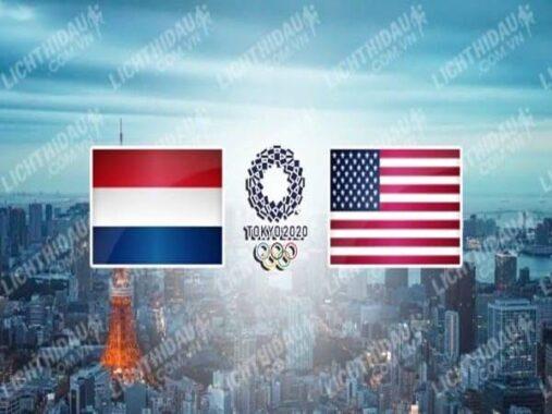 Nhận định kèo Nữ Hà Lan vs Nữ Mỹ, 18h00 ngày 30/7 Olympic Tokyo